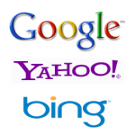 Search Engine Logos Google Yahoo Bing
